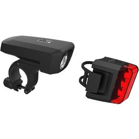 Cube Pro 25 Valaistussarja, black/black
